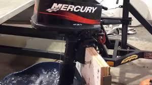 2003 mercury 5 hp 2 stroke outboard motor youtube