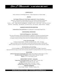 Resume Print Out Cosmetology Resume 4 Cosmetology Resume College Application Print