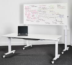 Used Sit Stand Desk by Gc1 Flip Top Sit Stand Tables Wave Office Ltd
