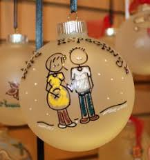 personalized ornament reindeer or moose pink sweater