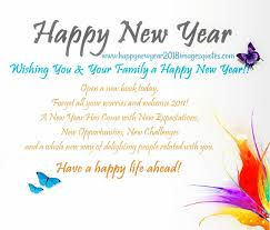 happy new year 2018 unique greetings best wishes messages