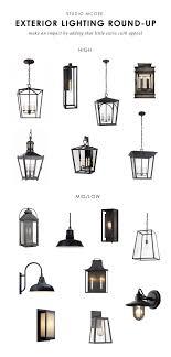 L Outdoor Lighting Our Top Picks Exterior Lighting Studio Mcgee