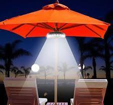 Led Patio Umbrella by 2 36 Led Battery Operated Umbrella Lights Ebay