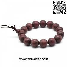 prayer beaded bracelet images Zen dear unisex natural violet wood japa mala beads bracelet jpg