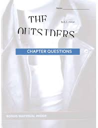 the outsiders chapter questions booklet