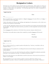 involuntary resignation letter sample images letter format examples