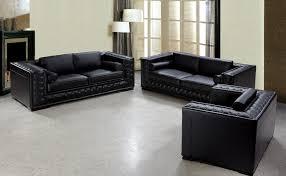 Sofa Sets Leather Beautiful Black Leather Sofas Luxurious Black Leather Sofa Set