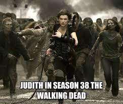 Walking Dead Memes Season 5 - images of an older judith grimes in the walking dead comics los