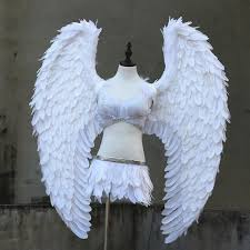 aliexpress buy custome white grey wings adults high