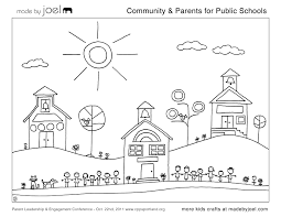 12 best images of our community worksheet my community coloring