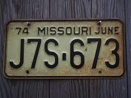Deco Vintage Americaine Plaque Immatriculation Voiture Americaine Usa Deco Indus