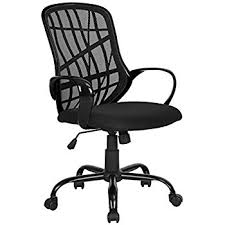 amazon black friday chair amazon com mesh task office chair with flip up arms color black