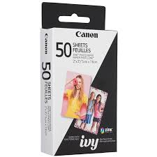 Shoo Zink canon zp 2030 50 zink photo paper pack 50 sheets for mpp1 mini