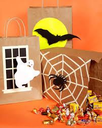 halloween treat bags trick or treat bags u0026 video martha stewart