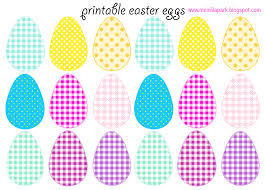 free printable cheerfully colored easter eggs ausdruckbare