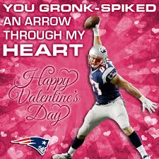 valentines day card patriots valentines new patriots