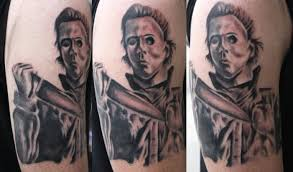 michael myers tattoo by aireelle on deviantart
