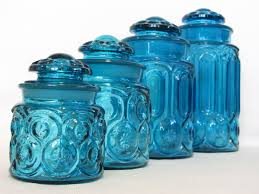 28 blue kitchen canister sets smith moon and stars sky blue