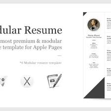 cover letter apple resume template free apple pages resume