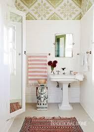 Wallpapered Bathrooms Ideas 384 Best Bathrooms Images On Pinterest Bathroom Ideas Beautiful
