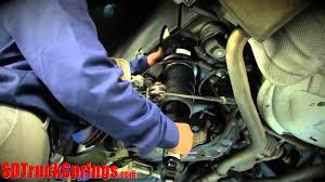 installation of arnott rear air suspension for jaguar xj series