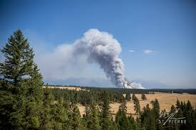 Wildfire Parks Canada by Flathead Fire Forces Evacuation Of Waterton