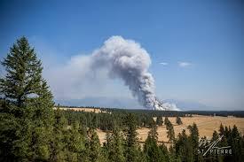 Wildfire Kootenays by Flathead Fire Forces Evacuation Of Waterton