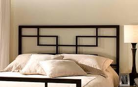 Modern Headboards Bedrooms Bedroom With Modern Bed And Modern Metal Headboard