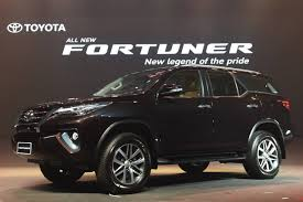 all new 2016 toyota fortuner launched in india starting at inr