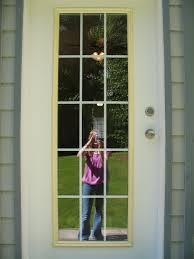 Exterior Back Door Remodelaholic Spray Painted Window Trim On Exterior Door