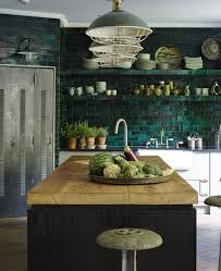 green backsplash kitchen 30 green kitchen decor ideas that inspire digsdigs