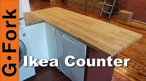 ikea kitchen island butcher block diy butcher block kitchen island gardenfork