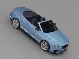 bentley sports car convertible bentley continental gt v8 s convertible 2015 by creator 3d 3docean