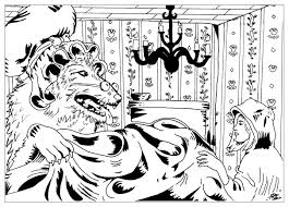 red riding hood coloring pages coloring grimm