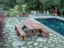 woodwork 8 ft picnic table detached benches plans plans pdf