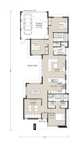 narrow lot house plans with rear garage this well thought out rear garage home design is ideal for 12m lots