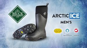the men u0027s arctic ice boot the original muck boot company youtube