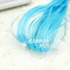 ribbons wholesale 20 meters lot 1 8 3mm sky blue organza ribbons wholesale gift