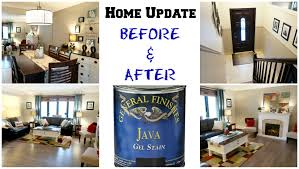 home update before and after gel staining wood youtube