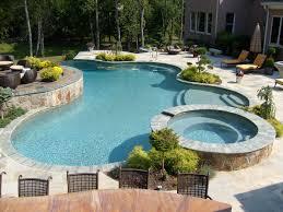 Swimming Pool In Small Backyard by Anthony U0026 Sylvan Swimming Pool Builder Custom Inground Pools