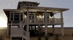 small beach house on stilts small beach houselans oniers floorilings stilts narrow coastal
