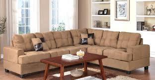 microfiber sectional sofas modern sectional sofas microfiber