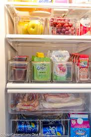 how to make your fridge look like a cabinet 50 ideas to organize your home the budget decorator