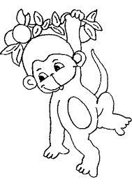 dessin à imprimer prefix singe en ligne