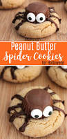 Sugar Cookie Halloween by Peanut Butter Spider Cookies Recipe