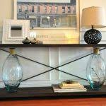 tall console table 36 inches extra tall console table for living