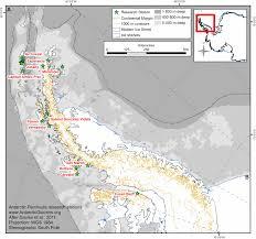 map of antarctic stations living in antarctica