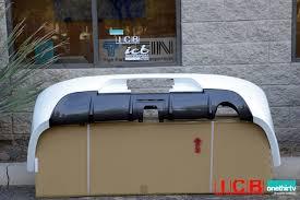 jdm rear bumper mitsubishi evo ix white sold out