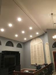 Can Lights For Vaulted Ceilings by Installed 6 Recessed Directional Lights With Phillips Hue Color