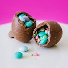 Easter Decorations With Candy by How To Make Hollow Chocolate Confetti Eggs Confetti Eggs